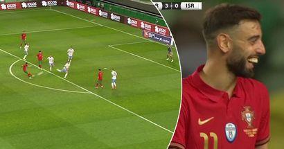 Bruno Fernandes lights up last pre-Euro friendly: his performance vs Israel broken down in 5 key numbers