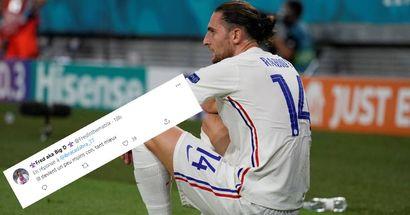 """""""Finir latéral gauche, je chiale"""", les fans réagissent au repositionnement de Rabiot en EDF vs Portugal"""