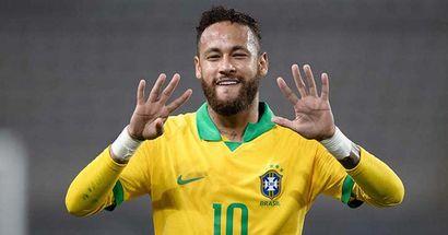 Les statistiques hallucinantes de Neymar contre l'Uruguay