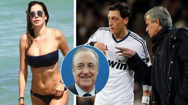 'Tu novia se le ha fo***** todo el Inter y Milán': el nuevo audio filtrado de Florentino revela algo brutal que Mourinho le dijo a Özil