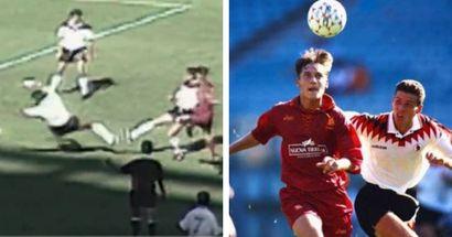 27 anni fa il primo gol di Totti con la Roma: il club celebra la leggenda giallorossa