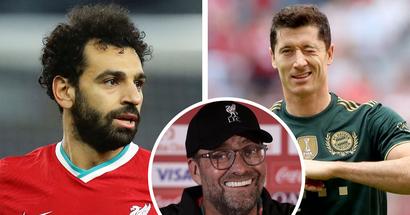 """Klopp vergleicht Salah mit Lewandowski: """"Mo spielt auf demselben Niveau, daran gibt es keinen Zweifel"""""""