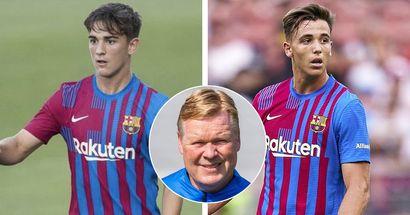 Explication: Gavi et Nico ne joueront que 60 minutes pour le Barça B à la demande de Koeman