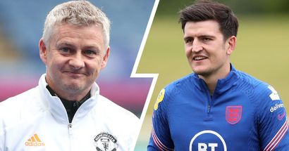 'He's been great with me': Maguire reveals Solskjaer's advice before start of Euros