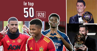 L'Equipe nennt die 10 besten Spieler unter 20 Jahren - sie sind die Zukunft des Fußballs