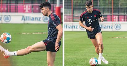 Noch ein Schritt in Richtung Comeback: Marc Roca trainiert wieder mit dem Ball!