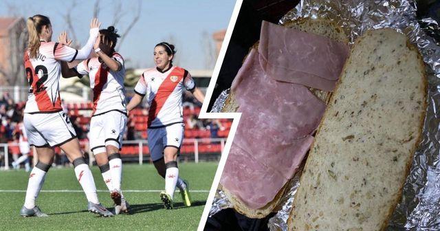Spanische Frauenmannschaft beschwert sich, nachdem der Verein ihnen nach dem Spiel Schinkensandwiches gegeben hat