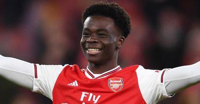 Bukayo Saka seemingly hints at Arsenal contract extension amid Liverpool links