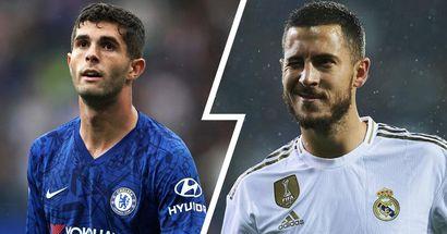 'Es un jugador increíble': Pulisic evita compararse con Hazard