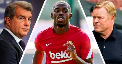 L'ultimatum émis par le club et plus: tout ce que nous savons sur l'avenir de Dembele au Barça jusqu'à présent
