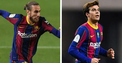 Oscar Mingueza y Riqui Puig convocados a la sub-21 de España