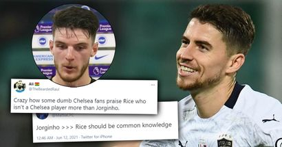 'Better than Rice', 'Cooked Turkey today': Chelsea fans shower Jorginho with love after impressing for Italy