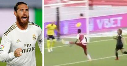 ¿Otro Ramos? Badiashile, ligado al Madrid, aturde con un increíble gol al primer toque