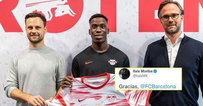 """""""Je veux un défi dans un autre pays"""": Ilaix Moriba dit au revoir au Barça"""