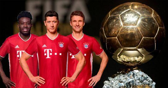 Müller? Davies? Welche Bayern-Spieler außer Lewandowski könnten für den Ballon d'Or nominiert werden
