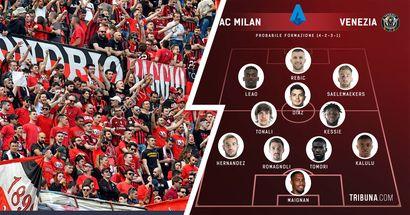 """""""È quella più lineare, ma vorrei vedere Pellegri"""", i tifosi rossoneri hanno scelto l'XI per sfidare il Venezia"""