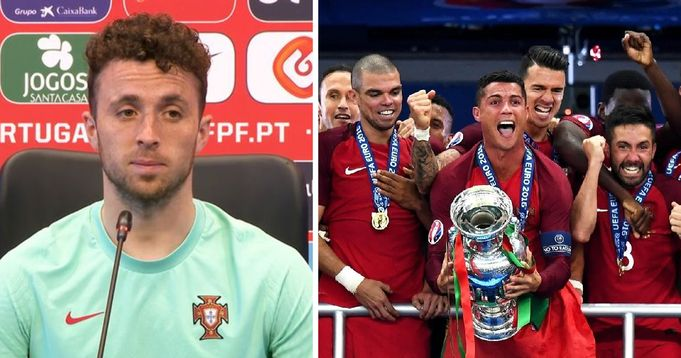 'There is extra pressure': Diogo Jota outlines Portugal's ambitions for Euros