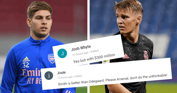 'Biggest joke of this transfer market': Tribuna fans react to Real Madrid's reported interest in swapping Smith Rowe for Odegaard