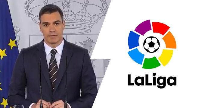 BREAKING: Spanish PM confirms La Liga can be resumed from June 8
