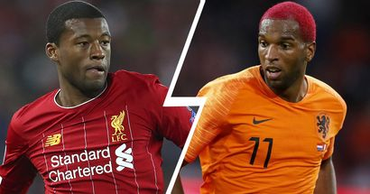 Ryan Babel runs out of words to describe Gini Wijnaldum's brilliance as a player and as a person