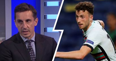 'A lot revolved around him': Gary Neville breaks down Jota's display against Hungary