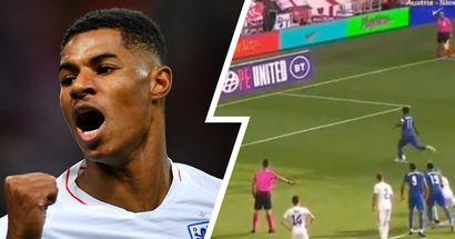 Marcus Rashford slots in cool penalty to help England beat Romania