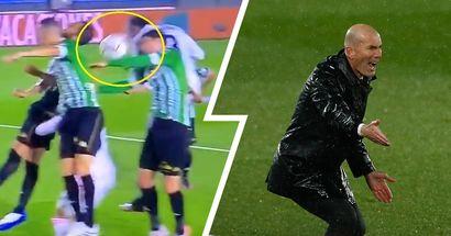 'No entiendo cómo toma sus decisiones del árbitro': Zidane critica al arbitraje por la mano de Miranda