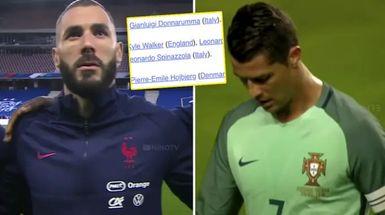 Sin Cristiano y Benzema: la UEFA presenta el Equipo del Torneo de la Euro 2020