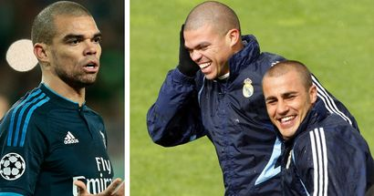 Pepe opens up on funny interaction between him and Cannavaro in his first days at Madrid