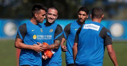 L'Inter riprende gli allenamenti dopo la domenica di riposo. Da martedì via al ciclo di amichevoli