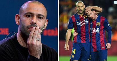 Mascherano: 'Mi deseo personal es que Messi siga en el Barça'