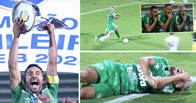Madness in Brazil: Chapecoense player goes all in, shocks teammates with a risky penalty to win promotion at 98 min