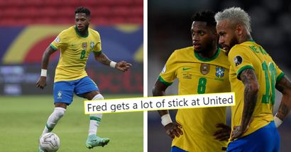 'Balling with Brazil': Man United fans identify how to get the best out of Fred