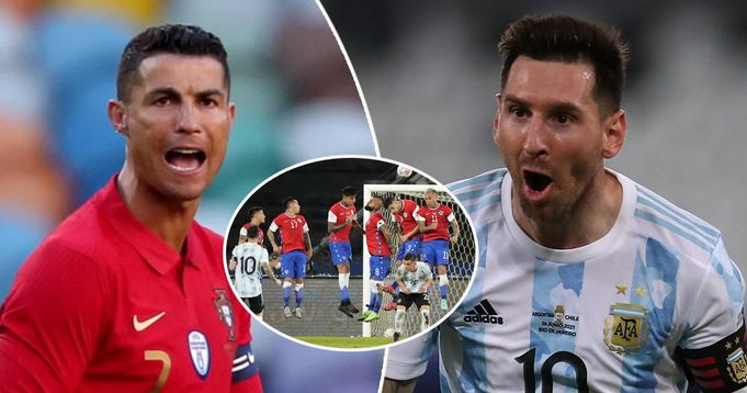 Messi moves ahead of Ronaldo in all-time free-kick charts after Copa America stunner