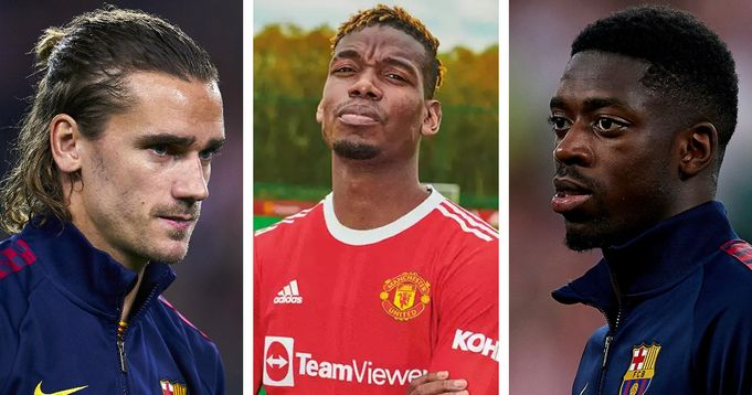 Man United's problem positions identified: Analysing 6 Barca players who could be swapped for Pogba