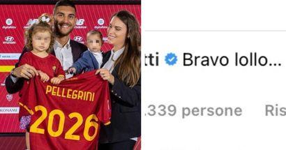 Da leggenda a capitano: il messaggio di Francesco Totti per Pellegrini dopo il rinnovo con la Roma