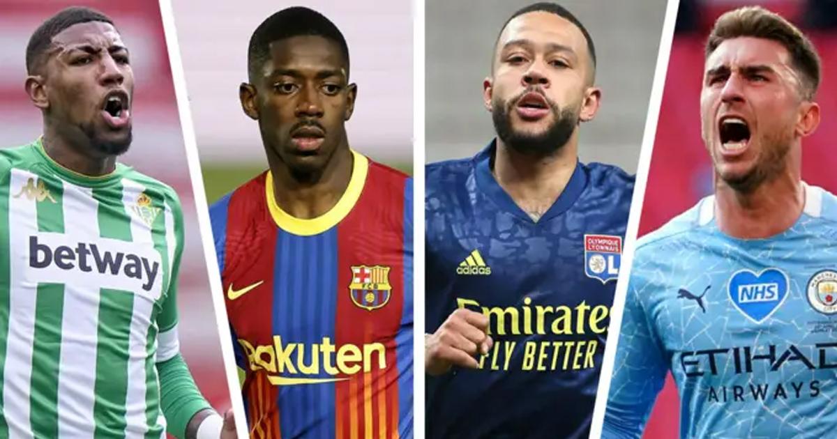 Depay entra, Dembélé fuera: resumen de traspasos de 18 nombres en el Barça con índices de probabilidad