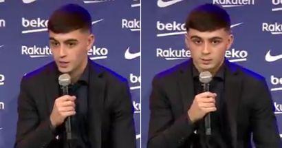 'Mi sueño es estar aquí muchos años': Pedri se abre de firmar un nuevo contrato a largo plazo con el Barça