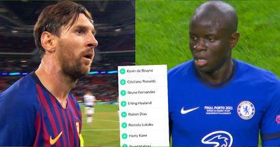 Probabilidades del Balón de Oro 2021: Mbappé y Kante por delante de Lionel Messi