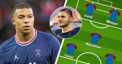 Un quatuor et Icardi à la place de Messi, les fans du PSG choisissent leur meilleur XI face à Metz