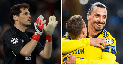Iker Casillas sends one-word message to Zlatan Ibrahimovic on his return to Sweden squad at 39