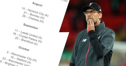 Premier League 2021-22 fixture list revealed: Liverpool to face Norwich on Matchday 1