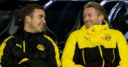 Ex-Dortmunder: Mario Götze lockt Andre Schürrle scherzhaft zu PSV
