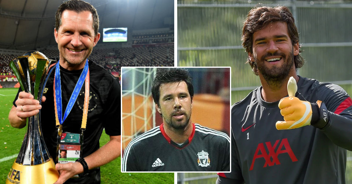 'Doni told me about him': LFC goalkeeping coach Achterberg reveals incredible backstory to Alisson signing