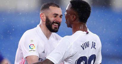 ¡Increíble! Vinicius y Benzema se han combinado para más goles que cualquier club de La Liga esta temporada