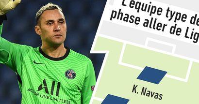 2 parisiens dans l'équipe type de la phase aller de Ligue 1 selon les notes des journalistes du quotidien L'Équipe