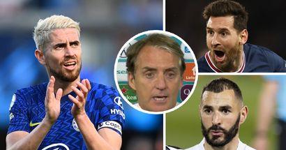 Mancini: Jorginho not winning Ballon d'Or would be 'strange'