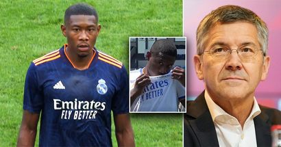 El presidente del Bayern reacciona a la imagen de Alaba besando el escudo del Madrid