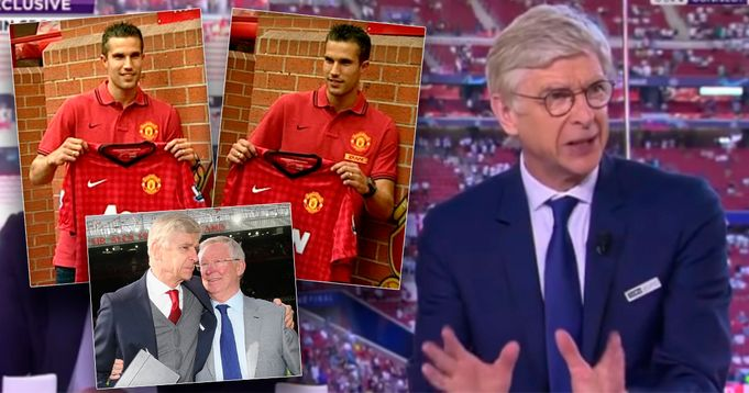 'He was right': What Arsene Wenger told Sir Alex Ferguson when Robin van Persie joined Man United