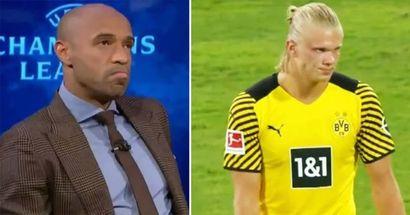 Thierry Henry nombra a los 3 mejores delanteros de esta Champions League: malas noticias para Haaland